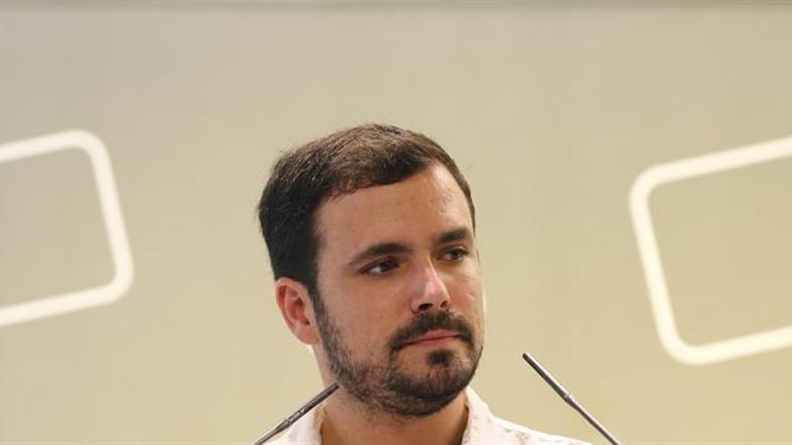 IU pide que Alberto Garzón sea coportavoz de Unidos Podemos en el Congreso