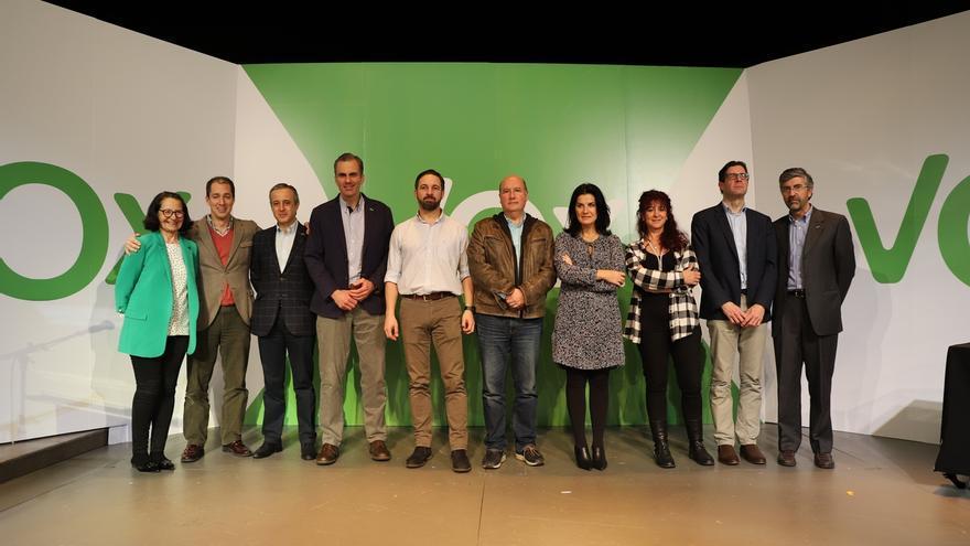 Santiago Abascal es reelegido por tercera vez como presidente de VOX