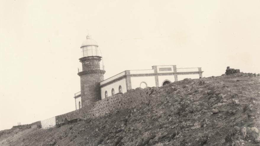 Faro de La Isleta en 1925 (FEDAC)