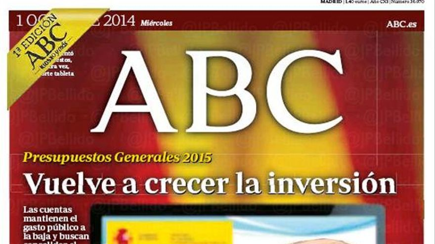 ABC título subtítulo.