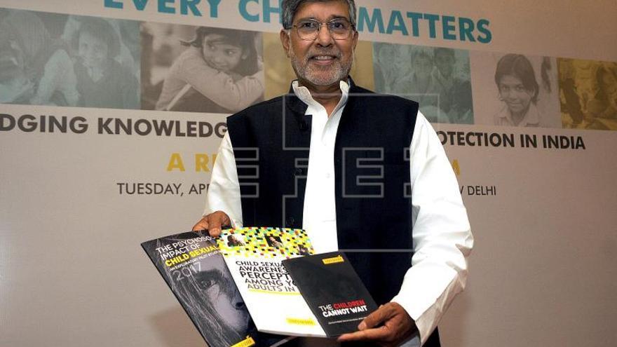 Nobel indio pide la creación de un tribunal especial para delitos contra menores