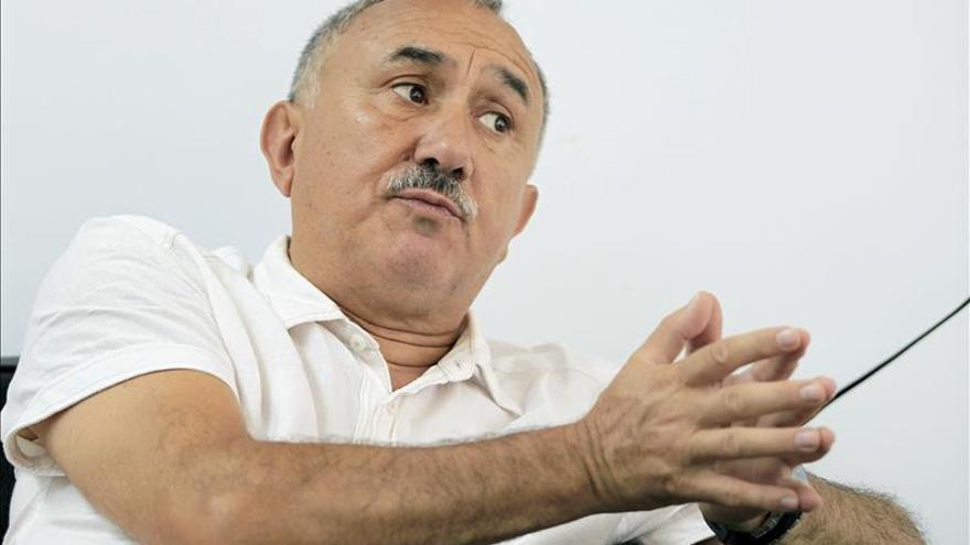 La Federación del Metal pide a Josep Maria Álvarez que se postule a liderar UGT
