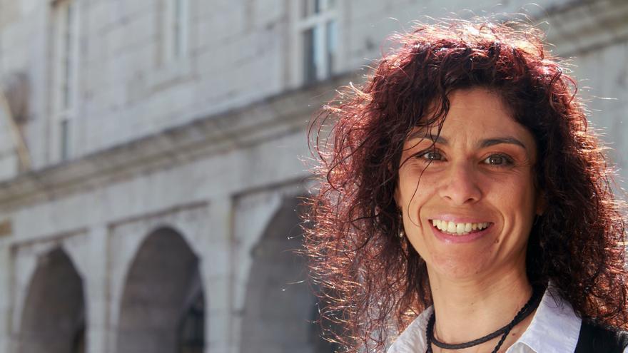 Rosana Alonso, candidata de Podemos al Congreso de los Diputados.