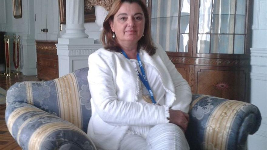 La directora general de la Oficina Española de Patentes y Marcas (OEPM), Patricia García Escudero.