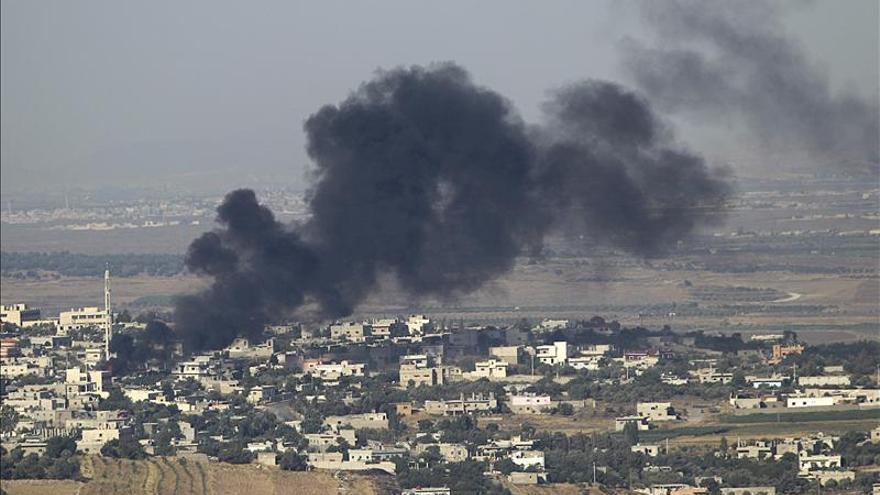 La aviación israelí ataca un objetivo cerca de la frontera sirio libanesa