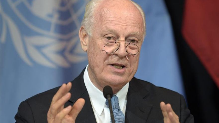 De Mistura trata con opositores sirios el calendario de las próximas negociaciones