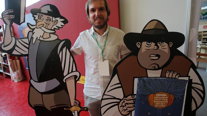 El novelista gráfico Alfonso Zapico destaca el despegue del cómic en España