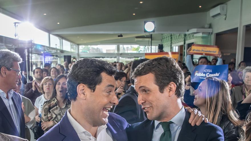"""Casado exige a Sánchez """"una rectificación"""" por los datos que exhibió sobre violencia de género de Andalucía"""