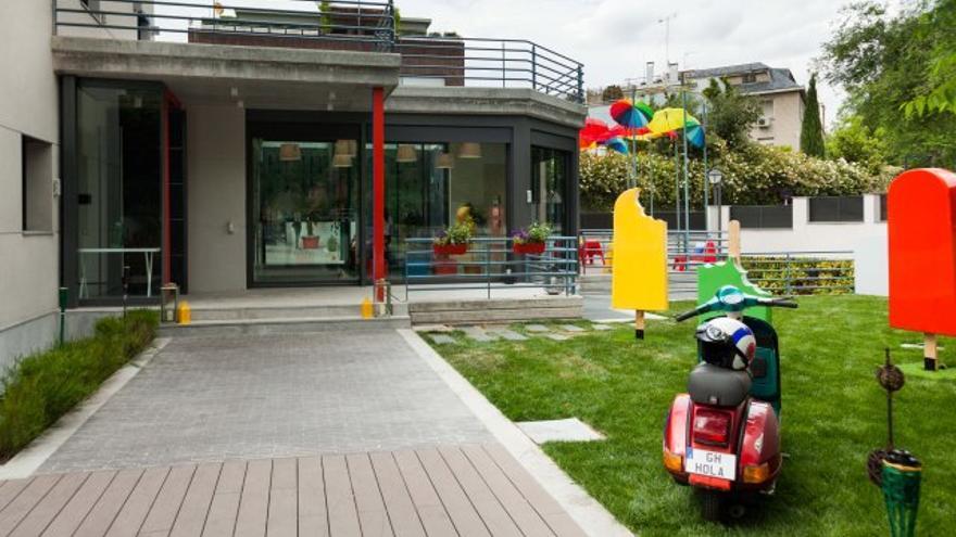Entrada a la Google House