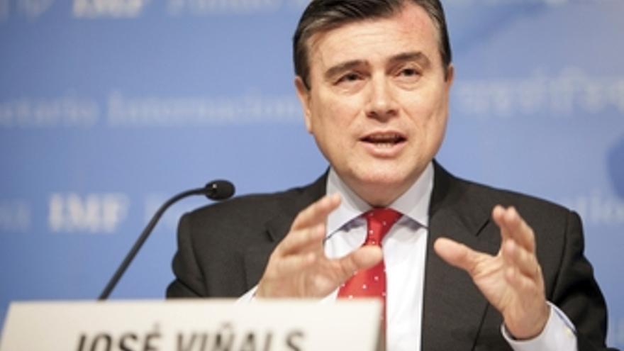 Responsable de mercados monetarios y capitales del FMI, José Viñals