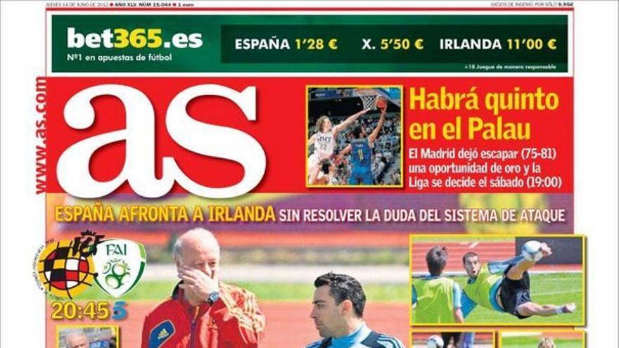 De las portadas del día (14/06/2012) #12