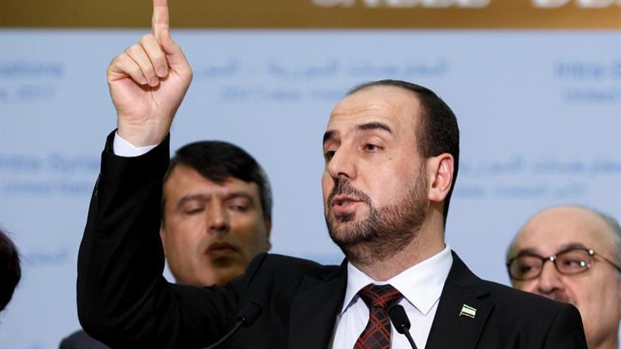 La oposición siria anuncia que acudirá a próxima ronda de diálogo en Ginebra