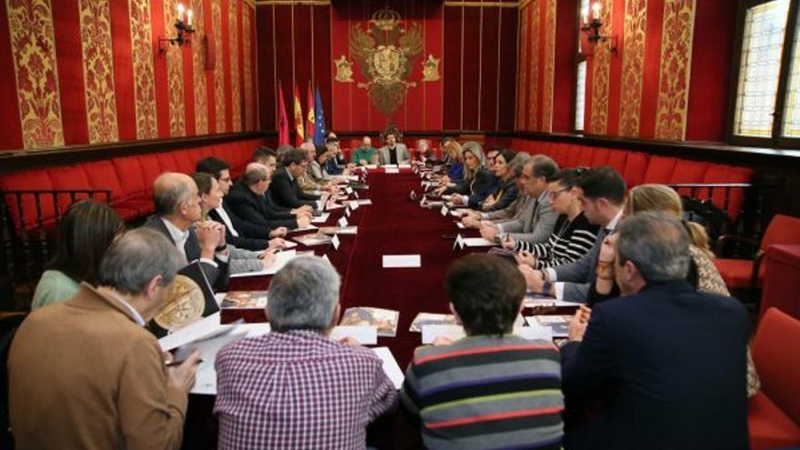 Constitución del Consejo del VIII Centenario del nacimiento de Alfonso X El Sabio / Foto: Ayuntamiento de Toledo
