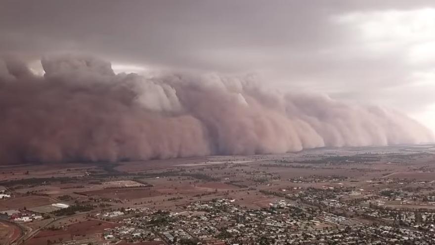 Grandes tormentas de polvo golpean el sureste de Australia