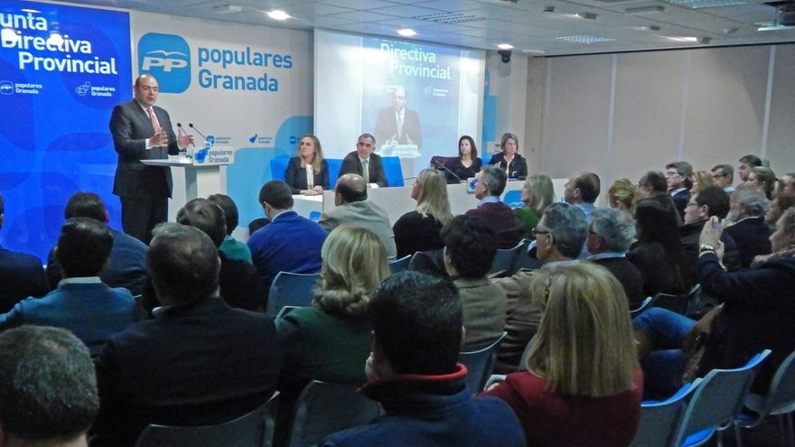 Sebastián Pérez será el candidato del PP a la Presidencia de Diputación y 'número 2' en la capital