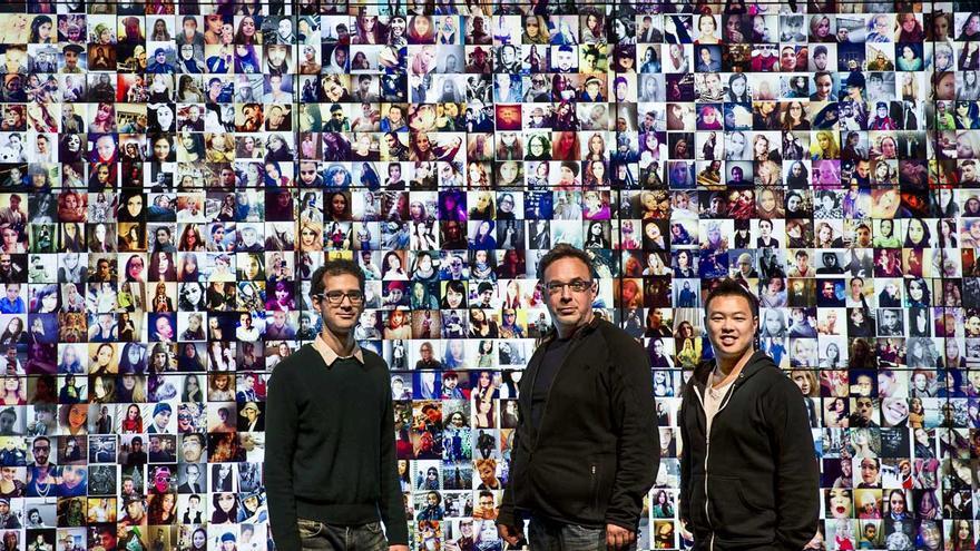 Mehrdad Yazdani, Lev Manovich y Jay Chow, el equipo que estudiará la felicidad de las ciudades según Twitter