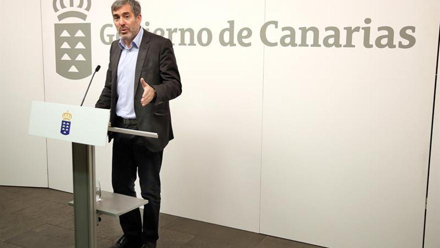 Fernando Clavijo, presidente del Gobierno de Canarias