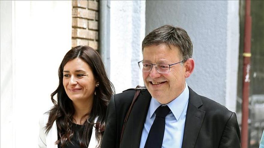 Carmen Montón i Ximo Puig.