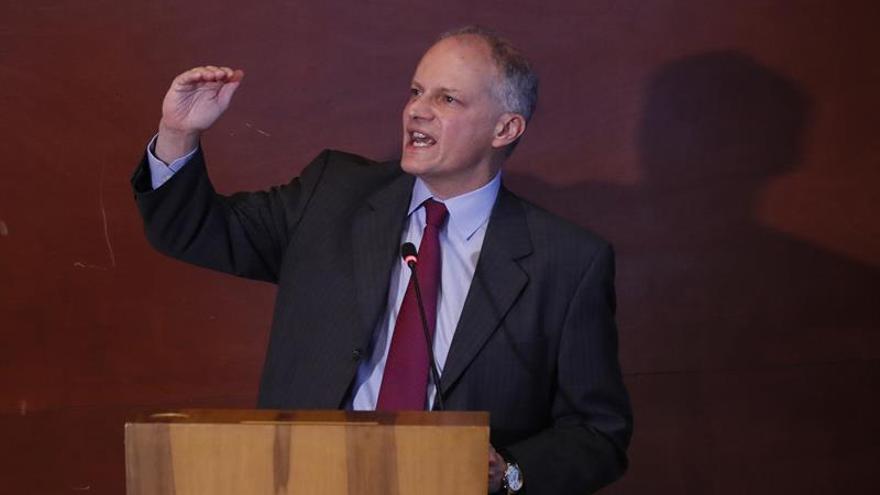 El director del Hemisferio Occidental del Fondo Monetario Internacional (FMI), Alejandro Werner.