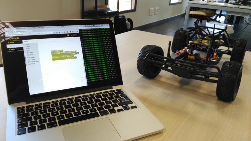 Erle Robotics desarrolla cerebros artificiales para robots y drones, como este róver