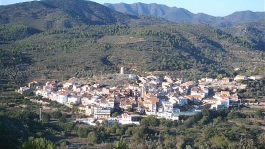 Vista del municipio castellonense de Matet