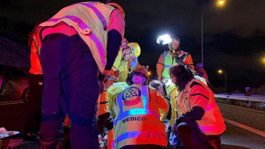 Ocho muertos en las carreteras española durante el fin de semana