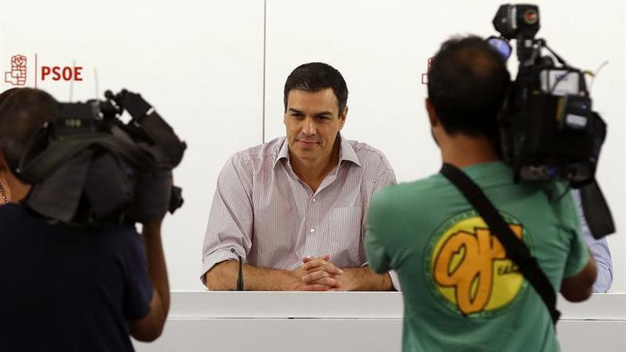 Sánchez trasladará a Rajoy el rechazo a su investidura y a negociar