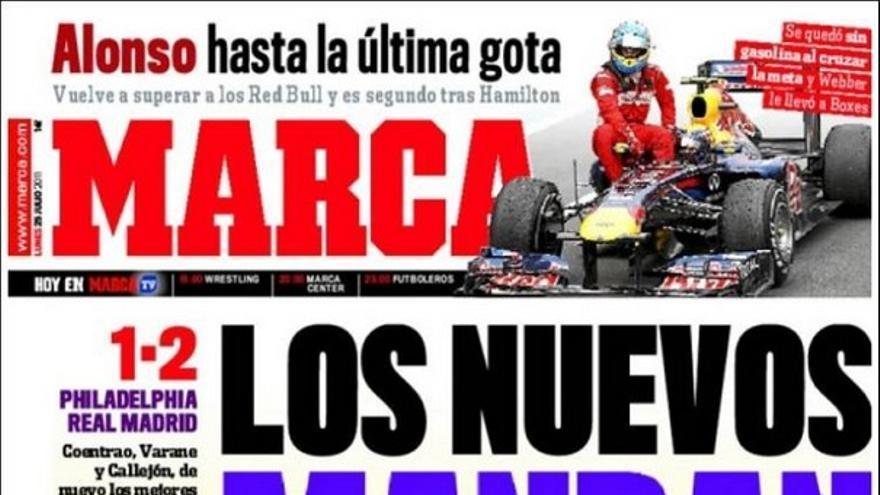 De las portadas del día (25/07/2011) #12