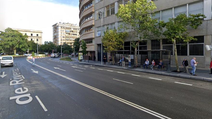 Calle General Primo de Ribera de Cáceres