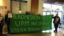 Manifiestación para pedir la readmisión en la UPM decretada por el Tribunal Supremo /301.org