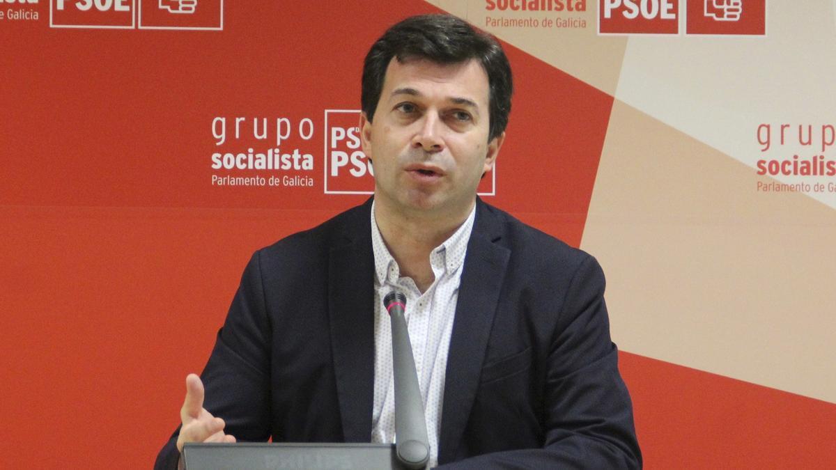 El portavoz del PSdeG-PSOE, Gonzalo Caballero. EFE/PSdeG/Archivo