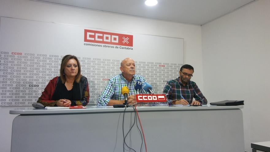 """CCOO amenaza con huelga general si no hay dinero para funcionarios: """"No nos creemos que Cantabria esté en la ruina"""""""