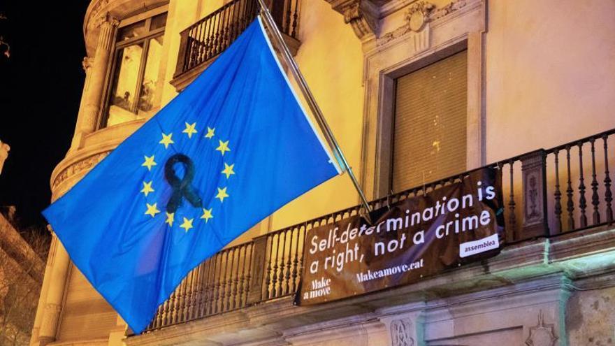 Los activistas de la ANC abandonan la ocupación de la sede de la Comisión Europea