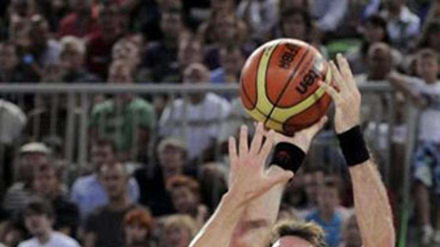 Rudy Fernández, autor de 10 puntos. (REUTERS)