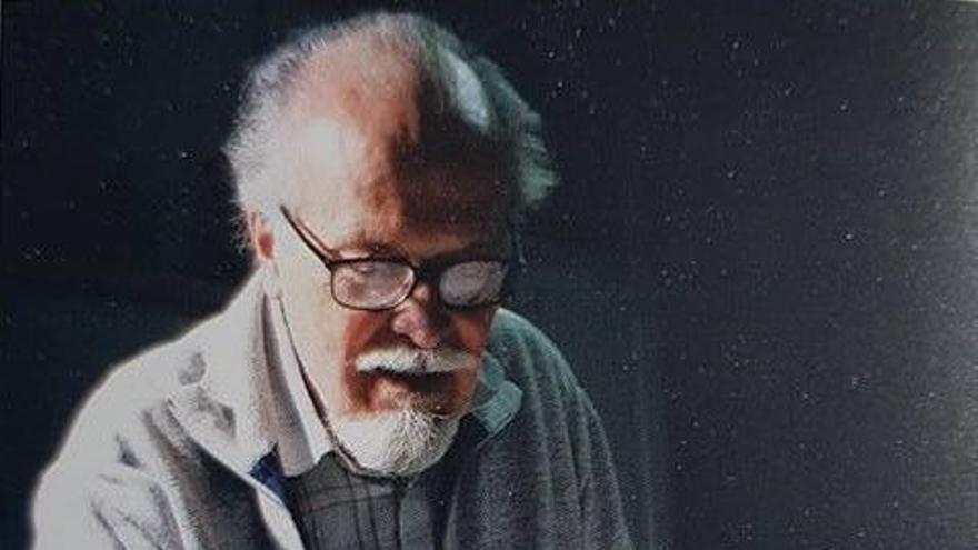 El pintor Alberto Manrique de Lara.
