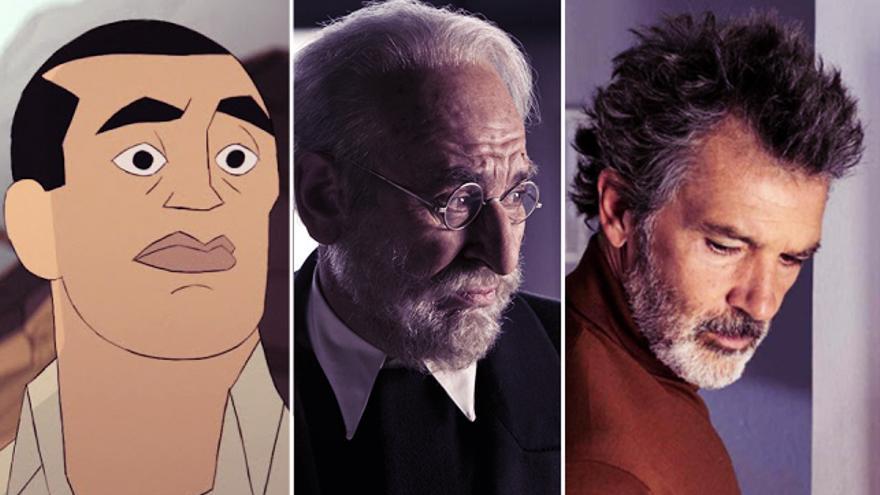 Buñuel, Unamuno y Salvador Mallo (trasunto de Almodóvar): los tres protagonistas de las películas preseleccionadas para los Oscar