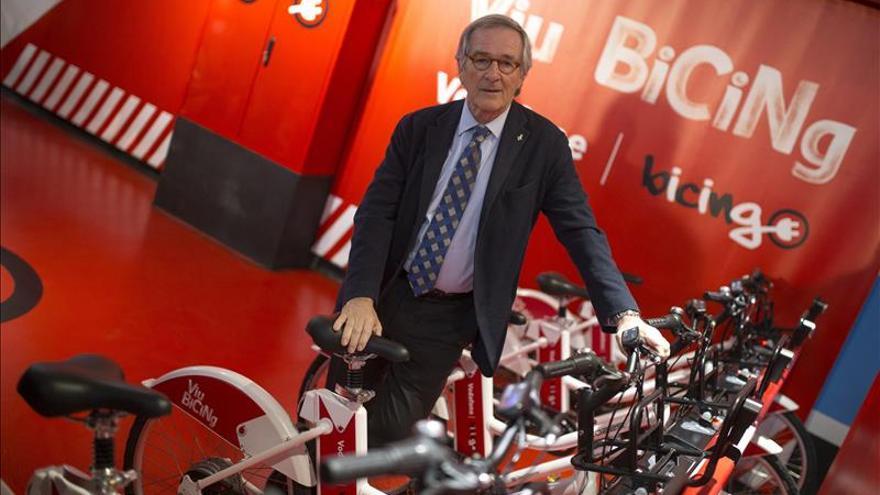 El alcalde de Barcelona aceptaría 100.000 motos más con conductores formados