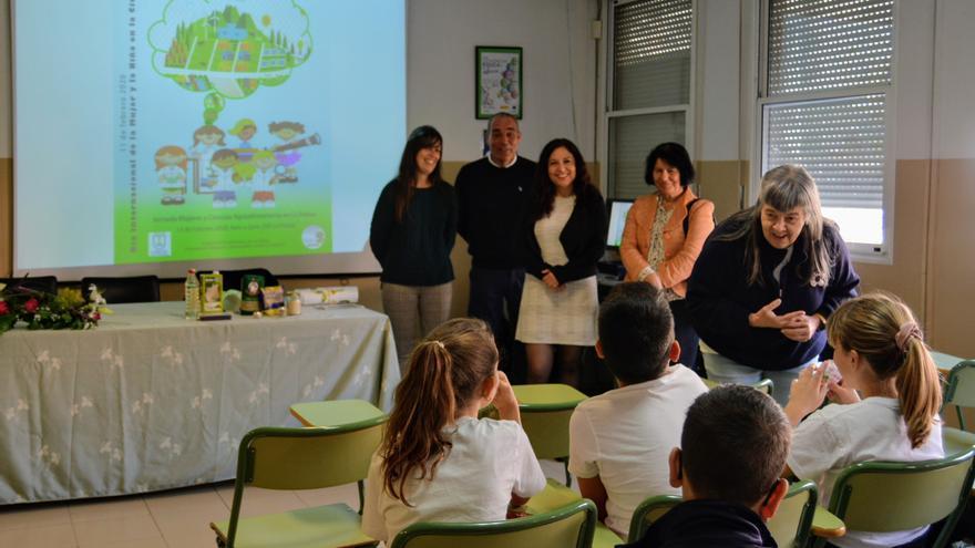 Inauguración de la 'II Jornada Conmemorativa del Día Internacional de la Mujer y la Niña en la Ciencia en La Palma'.