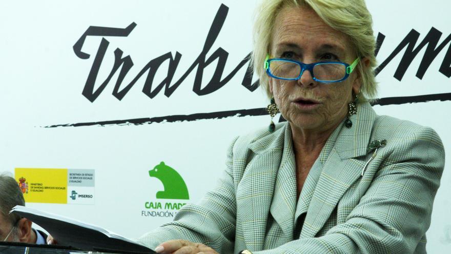 Carmen Cafranga, expresidenta de la Fundación Caja Madrid