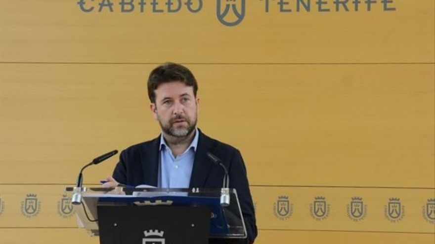 Carlos Alonso, presidente del Cabildo de Tenerife