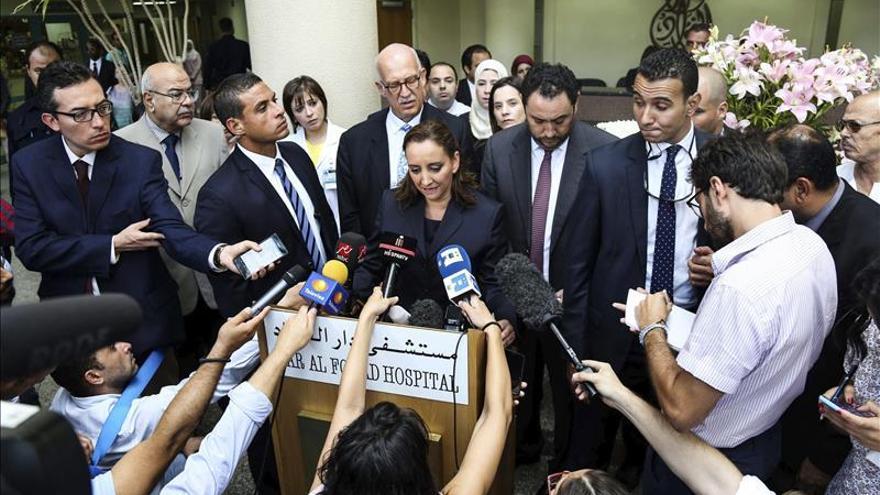La canciller mexicana visitará de nuevo a los heridos en Egipto para preparar su repatriación