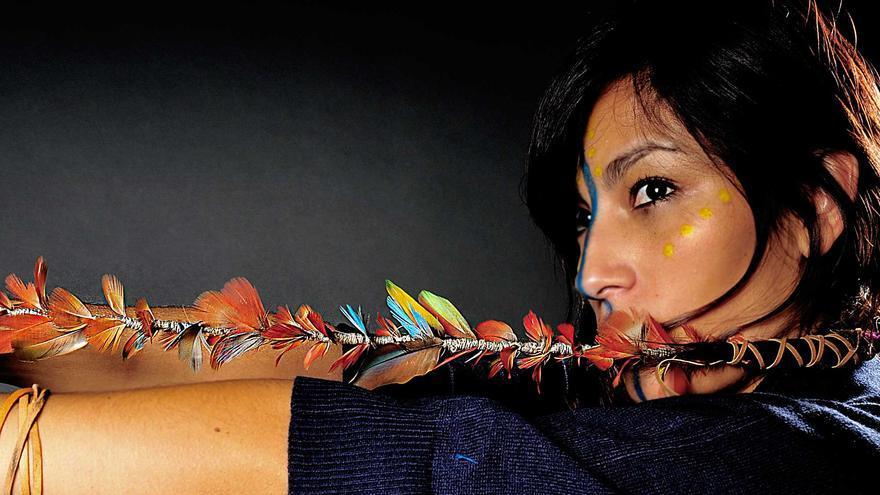 La rapera chilena Ana Tijoux