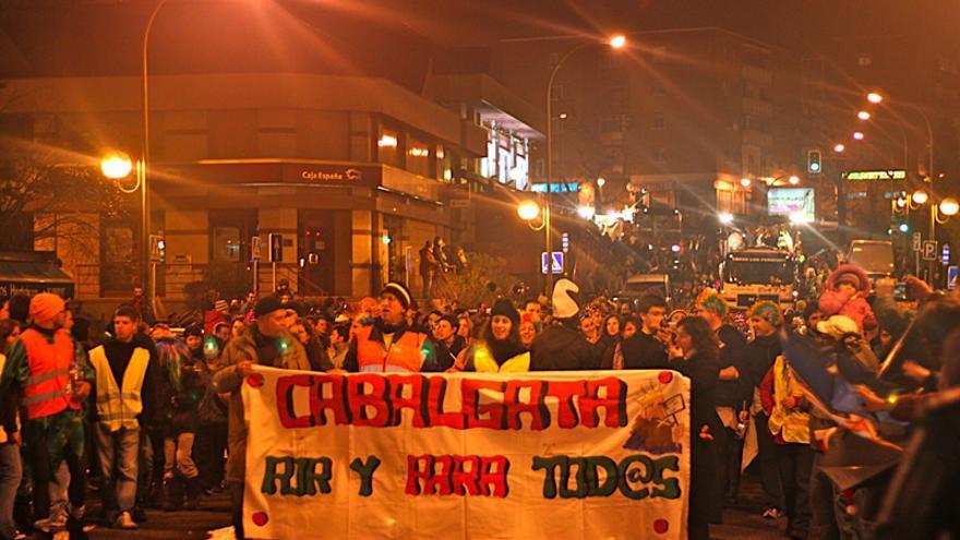 Los vecinos de Hortaleza, en lucha por su cabalgata participativa. Foto: cabalgatadehortaleza.org