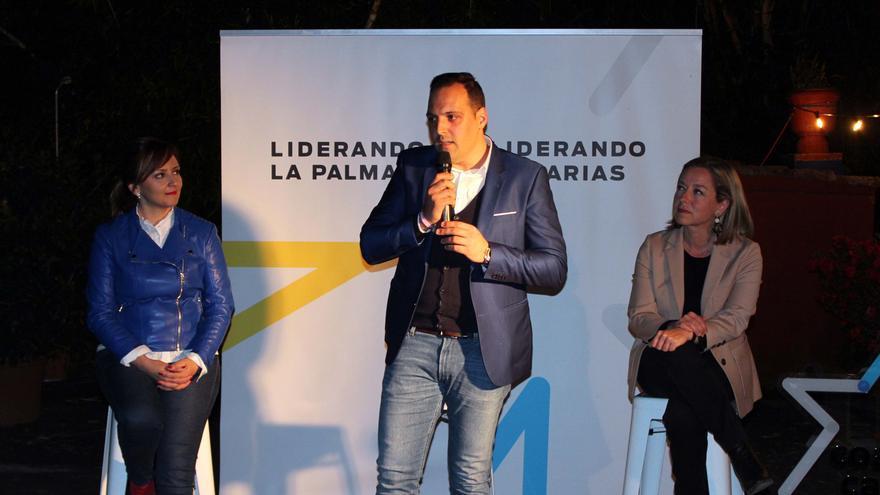 Jonathan Felipe durante su intervención.
