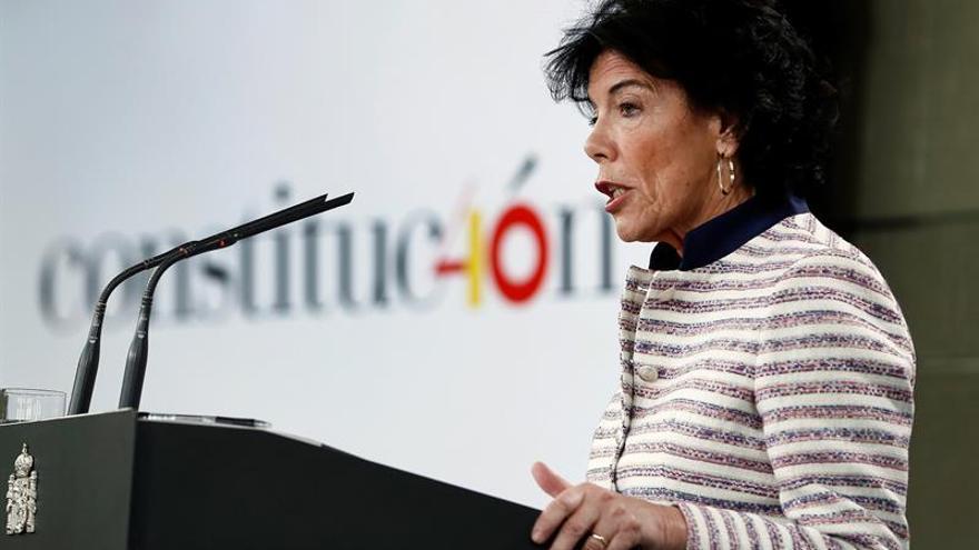 """El Gobierno rechaza el ultimátum de Torra y le pide """"distensión y calma"""""""