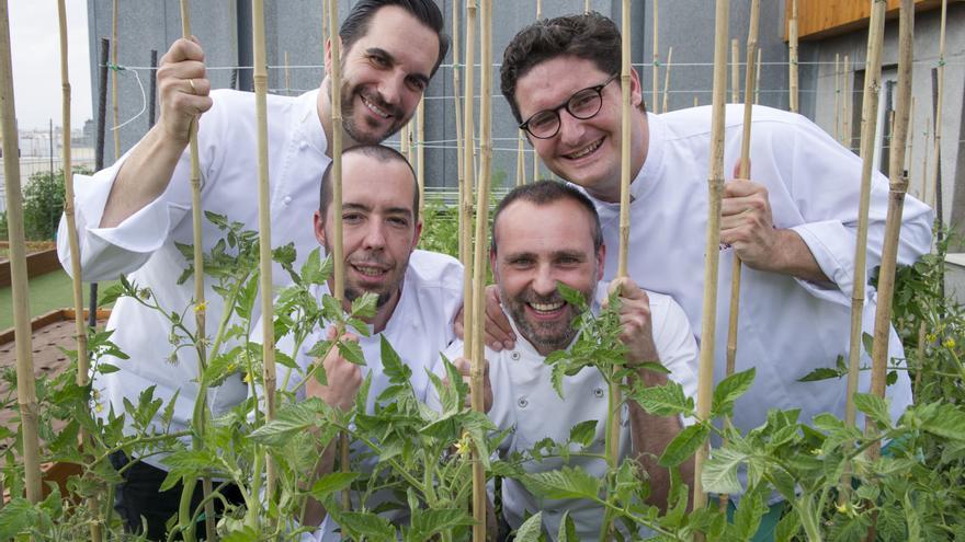 Mario Sandoval, Juan Antonio Medina, Daniel Ochoa, Rodrigo de la Calle