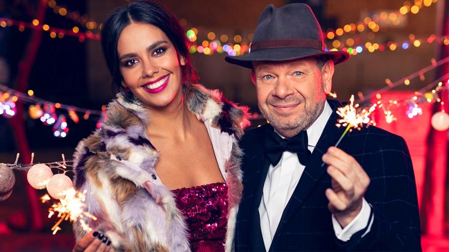 Cristina Pedroche y Alberto Chicote, la pareja de Antena 3 para las Campanadas por quinto año consecutivo