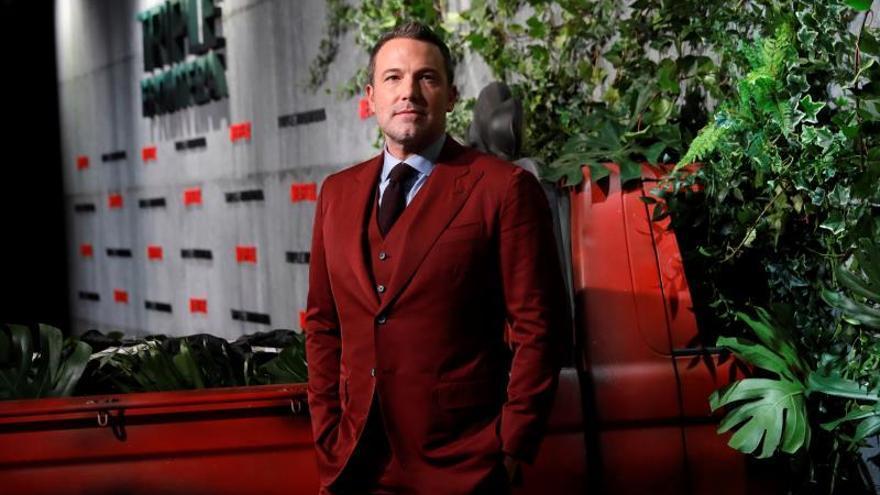 Ben Affleck dice estar avergonzado de su divorcio por problemas de alcohol