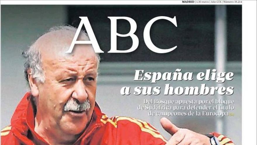 De las portadas del día (28/05/2012) #6