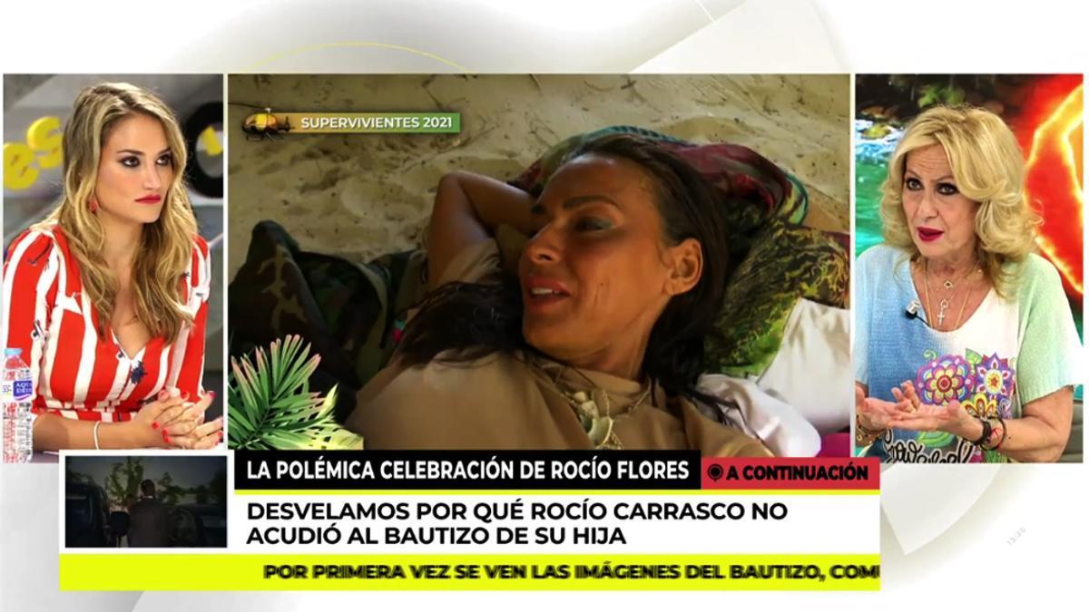 Rosa Benito en una intervención en 'Ya es mediodía'